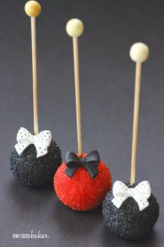 I wanted to make some pretty cake pops. I've made pretty cake pops before and I love the simple ones that don't require a lot of intricate work. I rummaged through all of my supplies and I came across some mini cupcake liners and I thought they would b...