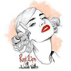LV Lips - mustafasoydan