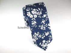 Blue Floral Tie by SuitedMan, what a beaut.