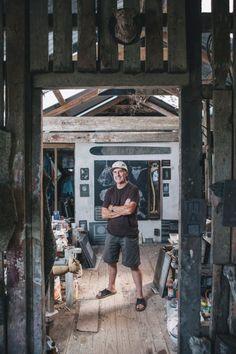 denis oconnor in his studio Outdoor Sculpture, New Art, Writers, Artists, Studio, Spring, Studios, Authors, Artist