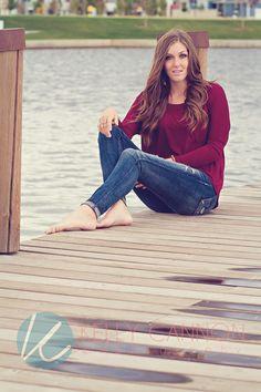 My gorgeous 2014 senior rep on the docks.