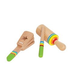 Our beautiful collection of unique wooden toys will inspire hours of open-ended play. Find wooden blocks, baby toys, play kitchens, train sets, and dollhouses. Toddler Toys, Kids Toys, Montessori Toddler, Montessori Playroom, Toddler Playroom, Montessori Materials, Toddler Learning, Wooden Musical Instruments, Bebe Love