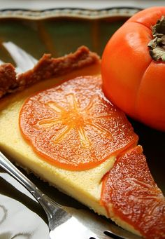 Persimmon Tart - color inspiration