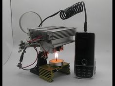 Candle Powered Phone Charger
