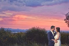 The sunset at Villa San Crispolto and an amazing sweet couple such as Maria and Marc were the perfect mix for this spectacular photo!!!  Photo by Jules Bower