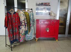 Raffinati abiti tradizionali cinesi.