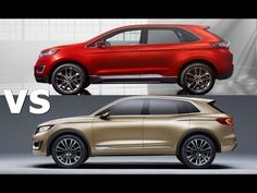 2016 Lincoln MKX vs 2016 Ford Edge || Exterior Interior & Drive - YouTube Lincoln 2017, Lincoln Mkx, 2016 Ford Edge, Exterior, Youtube, Videos, Awesome, Check, Top