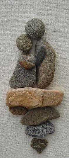Resultado de imagem para quadros em pedras