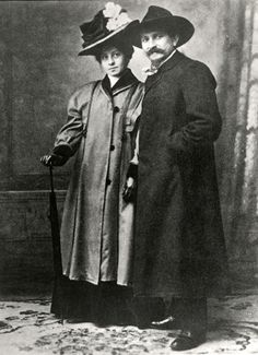 Photographer August Sander and his wife Anna (1905) - Sander Collection - Photography - Amber Online