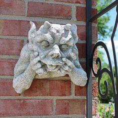 Design Toscano JE112121 Goliath The Gargoyle Sculpture Stone Gray