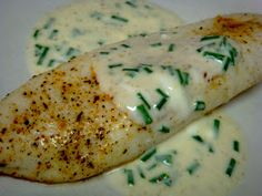 Mag-Pie's & more: Broiled Tilapia with Mustard-Chive Sauce
