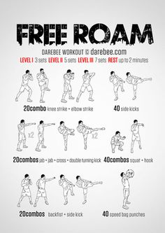 Free Roam Workout
