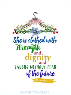 Proverbs 31 Free Original Printables | Beloved bible verse available as a free printable. Use for DIY Wall Art, cards, crafts, screensavers…