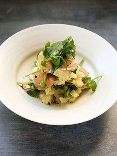 【ELLE gourmet】オリーブオイル香るポテトサラダレシピ|エル・オンライン