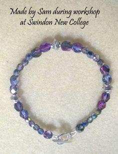 Made during workshop at Swindon New College Nov 15. www.verchieljewellery.co.uk