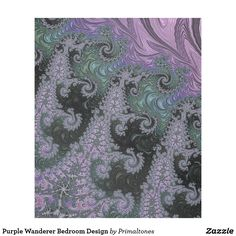 Purple Wanderer Fleece Blanket Bedroom Design