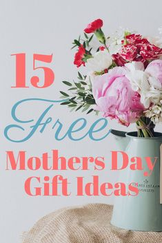 Free Mothers Day Gifts for mom! How to show your mom you care without spending any money. Money saving tips. Cheap gifts for her. Cheap gifts for mom. Mothers day on a budget. What to give mom for Mothers Day this year. Cheap Gifts For Mom, Cheap Mothers Day Gifts, Mothers Day Crafts For Kids, Gifts For Teens, Mother Day Gifts, Mom Gifts, Easy Gifts, Free Gifts, Diy Mother's Day Crafts