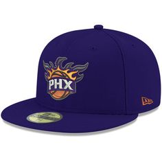 caa211e95f2 Men s New Era Purple Phoenix Suns Official Team Color 59FIFTY Fitted Hat