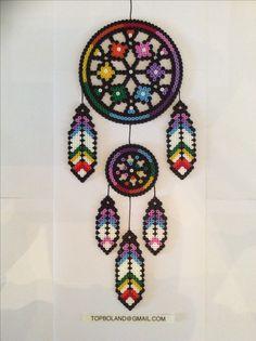 Dreamcatcher Hama beads Perler beads