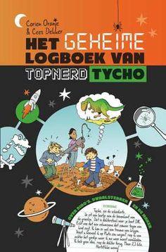 Het Geheime Logboek Van Topnerd Tycho-Cees Dekker, Corien Oranje-boek cover voorzijde