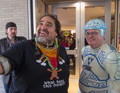 Double Rainbow Guy & Tron Guy at ROFLCon III