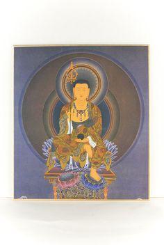 Rakuten budista Ksitigarbha papel de color: Buddha budista tibetana al por mayor de arte Tenjikudo