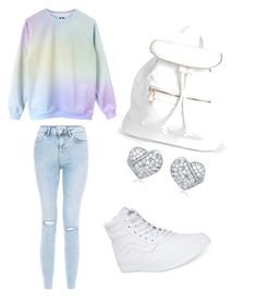 """chill day"" by iasiayoung ❤ liked on Polyvore featuring Vans and Boohoo"