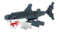 Nanoblock - Great White Shark - micro-sized construction set
