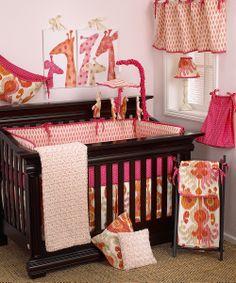 Sundance Crib Bedding Set | zulily I love giraffes!
