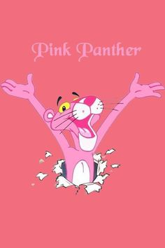 Pink panther is cute