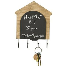 Dog House Wooden Chalkboard with Hooks (Natural) Home Office Collection http://www.amazon.com/dp/B00YD49884/ref=cm_sw_r_pi_dp_xumXvb023GY70