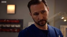 #HolbyCity (19/23) Fletch (Alex Walkinshaw). I was in the room when this scene was filmed!