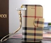 Designer inspired Burberry leather wallet style iphone 5/5S case cover with card holders,Brown plaid with wrist strap,full protection,luxury style and touching feel,Buy one get one matched Free 3.5mm Crystal Anti dust Plug,Shipping from Alberta,CA
