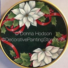 White Poinsettia ePacket by Donna Hodson - PDF DOWNLOAD