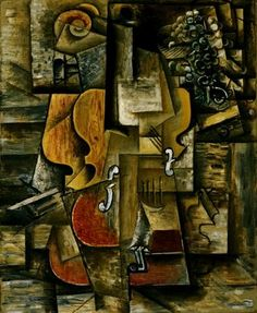 Picasso's Violin and Grapes 1912