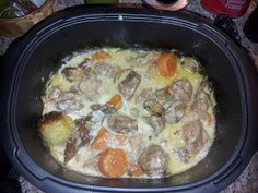 KroKroBon KroKroBeau: Blanquette de veau dans l'Ultra pro 3.5 l Kids Cooking Recipes, Cooking Bacon, Egg Recipes, Cooking Pasta, How To Cook Lobster, How To Cook Pasta, Cooking Pumpkin Seeds, How To Cook Brats, Pro Cook