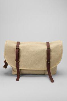 Canvas Explorer Messenger Bag  #UrbanOutfitters