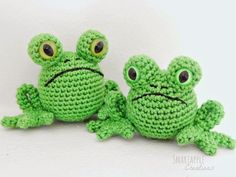 Free crochet pattern for frog by Smartapple Creations