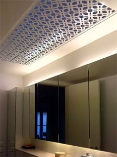 ... panel looks stunning in this contemporary style bathroom in Paddington