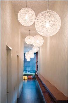Moooi Random light 3 maten doorsnede 50 - 80 - 110 cm Modern Hallway, Lamps, Light Fittings, Bulbs, Lightbulbs, Light Fixtures, Lights
