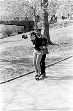vintage everyday: Skateboarding in New York City, 1960s