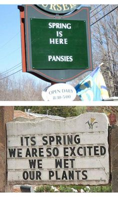 Spring is in the air! // We just lost 10 solid minutes of work time laughing at this.