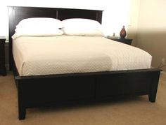 Farmhouse bed king modified | Do It Yourself Home Projects from Ana White