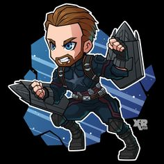 Marvel Drawing FA Captain America by - Marvel Avengers, Chibi Marvel, Avengers Cartoon, Marvel Cartoons, Marvel Art, Marvel Dc Comics, Marvel Heroes, Captain America Art, Captain America Drawing