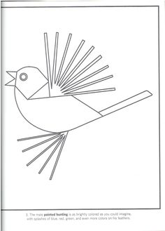 Birds: Charley Harper Coloring Cards | coloring pages 2 | Pinterest ...