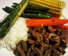 Recipe Honey Soy Beef by Thermie With Me - Recipe of category Main dishes - meat