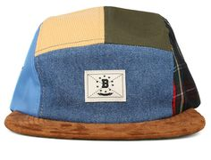 Blue Hills 5 Panel Cap by BODEGA