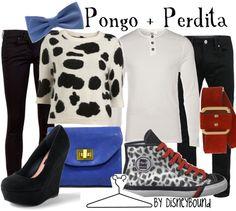 Pongo & Perdita by Disney Bound Fashion Disney Outfit 101 Dalmatians Disneybound Outfits, Disney Outfits, Disney Clothes, Disney Dresses, Disney Inspired Fashion, Disney Fashion, Disney Mode, Pongo And Perdita, Estilo Disney
