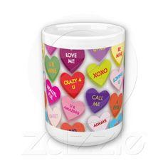 Candy Hearts Mug
