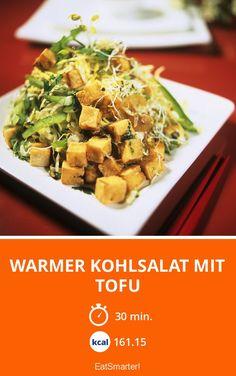 Warmer Kohlsalat mit Tofu - smarter - Kalorien: 161.15 kcal - Zeit: 30 Min. | eatsmarter.de
